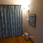 間接照明を使用している部屋の写真